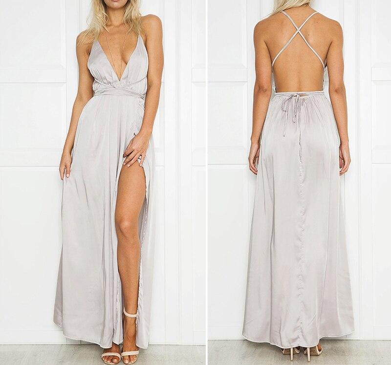 Платье с открытыми плечами без рукавов