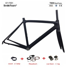 Super light 700C Carbon Road Bike Frame UD Full Carbon Di2 and Mechanical Road Frame Racing Bicycle Frameset Size 50/53/55cm