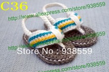 Crochet Baby Sandals, Baby boy Flip Flops, Crochet Baby shoes , Sizes 0-12 Months Free Shipping