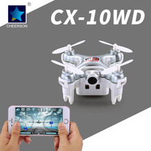 Cheerson micro helicopter four rotor aircraft RC CX-10WD radio four-axis unmanned aerial vehicle DJI Phantom pocket camera