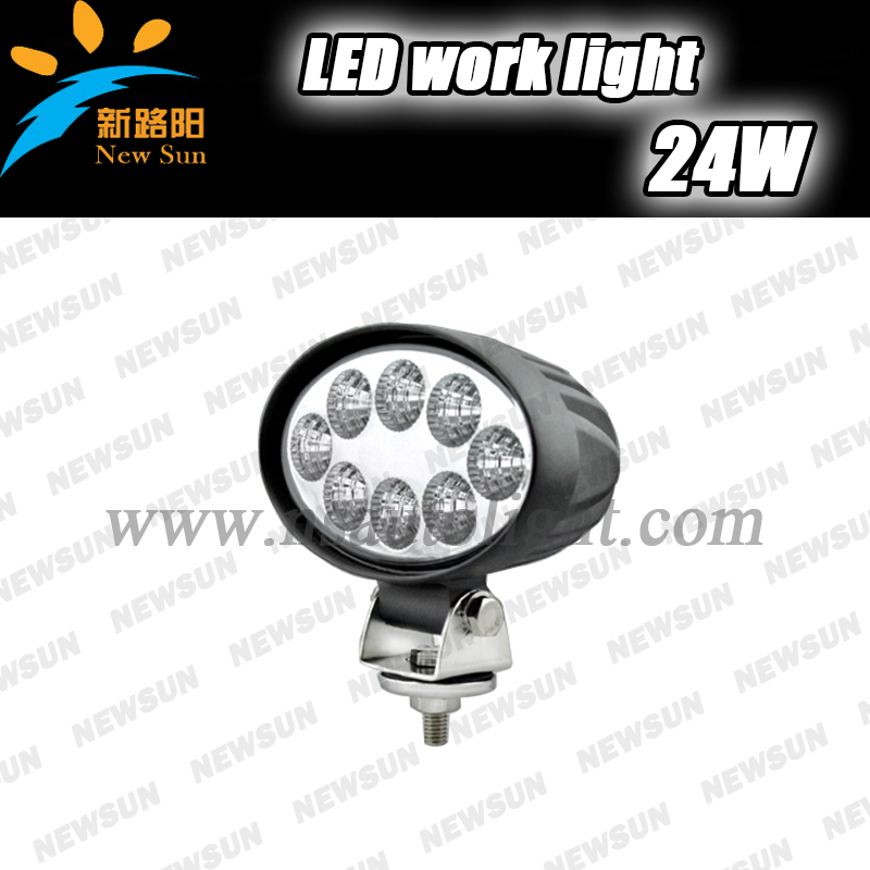 24W LED Work Light Fog driving Lamp Car Truck SUV 4WD ATV Tractor Mining Off Road ATV Spot beam worklight led 24W 12v<br>