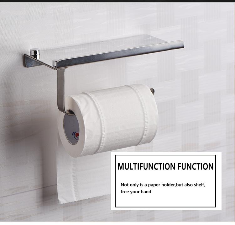 Concise Wand Toilettenpapierhalter Badzubehör Edelstahlhalter ...