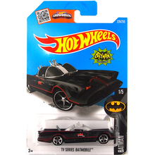 Free Shipping Mini Car Models Metal Diecast Hot Wheels BATMAN TV SERIES Batmobile Collection Kids Toys Vehicle Juguetes