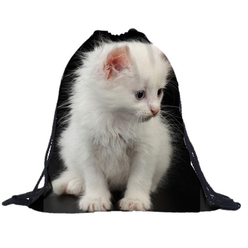 New Fashion Drawstring Bag Fashion 3D Printed backpacks Animal Travel Lunch Women Backpack Mochila Feminina Harajuku Bags<br><br>Aliexpress