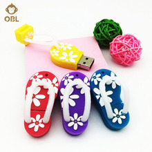 Cartoon Slipper USB Flash Drive 128GB 64GB 32GB 16GB 8GB 4GB Pen Drive Flash Disk USB Stick Pendrive Memory Stick Storage Device