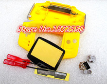 Hot  2pcs/Lot  5 color Housing Case for Gameboy Advance GBA Console Replacement Shell With Original Logo Christmas For Gift