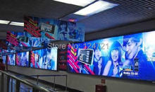 Led panel wall mounted ultra-thin lightbox large outdoor publicity advertising products aluminium extrusion Black snap frame New