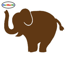 HotMeiNi Circus Brilliant Performances Elephant Balancing Act Funny Car Sticker Window Laptop Car Styling Vinyl Decal 9 Colors(China)