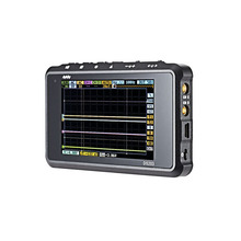 CCDSO DSO203 DS203 Digital Oscilloscope Diy kit Nano portable 8MHz bandwidth 4 Channels arm Cortex M3 CPU  Aluminum Meter Case
