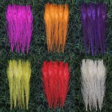 "Wholesale, 20 PC dyed the peacock tail feathers 26 to 30 cm / 10 to 12 inches ""6 kinds of color"