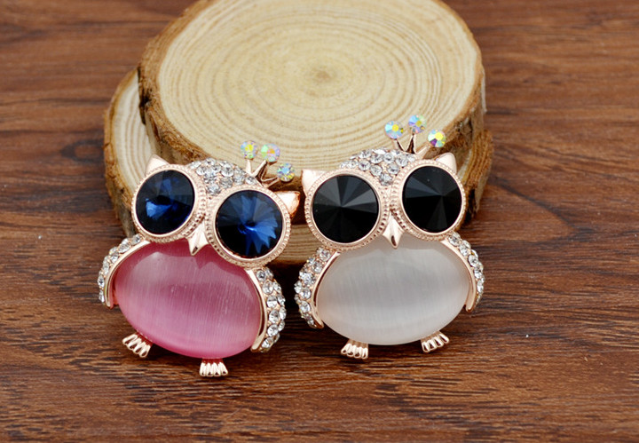 opal owl brooches 5