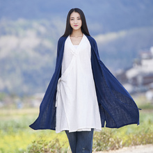 Buy Solid V-neck Long sleeve Kimono Women Long Blouse Shirt Vintage Chinese style Summer Shirt Loose Casual Kimono Tops Blusas B172 for $18.80 in AliExpress store