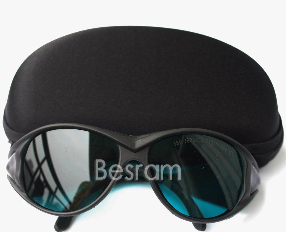 190nm-355nm-380nm UV 600nm-650nm-760nm OD4+ Red Laser Protective Goggles Glasses<br><br>Aliexpress