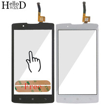 Buy 4.5inch Front High Touch Screen Digitizer Panel Lenovo A2010 2010 Touch Panel Sensor Front Glass Outer Lens + Adhesive for $3.79 in AliExpress store