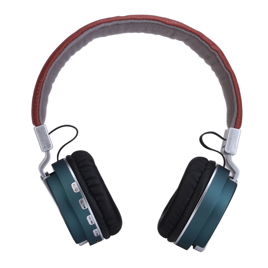 Handsfree Stereo Large Headfone Casque Audio Bluetooth Headset Big Earphone Cordless Wireless Headphone for Computer PC Xiaomi
