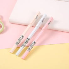 1 Pcs Cute Kawaii MG Korean Candy Color Extra Fine Point 0.35mm Gel Ink Pens For Writing School Supplies Stationery