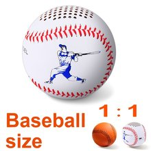 Bluetooth Speakers Sound 10h Portable Baseball outdoor Leather Music Angel Wireless Bluetooth Speakers Mini Speaker 3.0 Music(China)