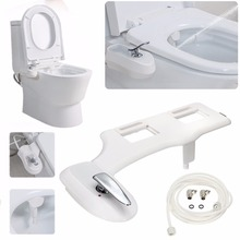 7/8'' And 9/16'' Bathroom Non-Electric Bidet Spray Hot / Cold Water Toilet Seat Attachment Self-Cleaning Noozle Mayitr New(China)