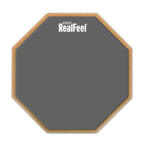 Evans RF6D RealFeel 6 inches 2-Sided Speed and Workout Practice Drum Pad<br>