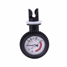 Surfing PVC Pressure Gauge Air Thermometer Inflatable Boat Kayak Test Air Pressure Valve Connector SUP Stand Up Paddle Board(China)