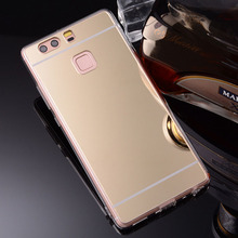 Buy Luxury Plating Bling Slim Mirror Case Huawei P9 P8 P10 LITE Case Soft Case Huawei P8 lite 2017 Cover P10 Plus Case for $1.33 in AliExpress store
