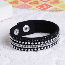New Unisex Multilayer Leather Bracelet Christmas Gift Charm Bracelets Vintage Jewelry For Women