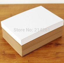 DIY Paper Cardboard A4 White Blank  Paper Cardboard   Draft  Art Draw Daily Note Card White Paper Card Paper Tag