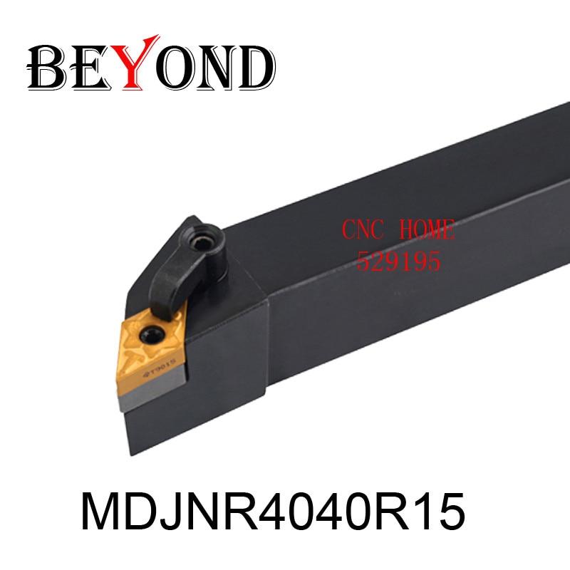 MDJNR4040R15, external turning tool holder original boring bar suitable mini lathe machine use carbide aluminum ceramic cnc<br><br>Aliexpress