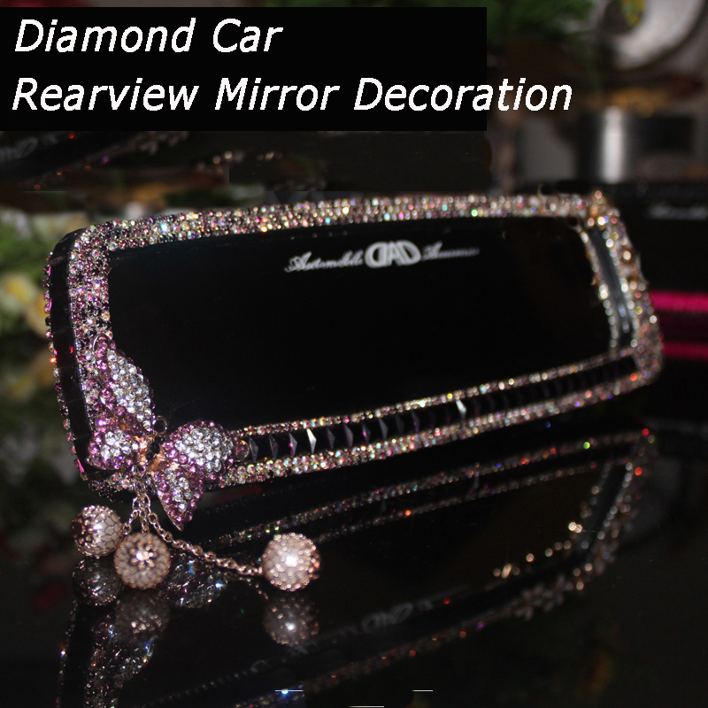 Car-Interior-Mirror-Crystal-Decoration-Diamond-Butterfly-Rearview-Mirror-Bling-for-Girls-Woman-1