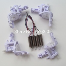 4pcs SYMA X5 X5C X5A Main Motors A & B With Small Wheel Gear +4pcs Motor Base Accessories Free Shipping