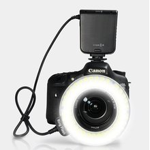 HC-122 122 Macro LED Ring Flash Light For Canon 100D 700D 650D 1100D 600D 500D 550D 450D 1000D 400D 350D 70D 60D 60Da 50D 40D
