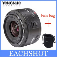 In Stock! Yongnuo 35mm lens YN35mm F2 lens Wide-angle Large Aperture Fixed Auto Focus Lens For canon EF Mount EOS Cameras