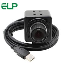 High speed USB2.0 VGA 640x480 4mm manual focus lens Digital Video usb industrial camera with 3m usb cable