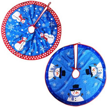 Compare Prices On Snowman Tree Skirt Online Shopping Buy Low  - Blue Christmas Tree Skirt
