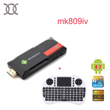 MK809IV smart TV Box Stick + wireless keyboard Quad Core WIFI Media Player Google Android   2GB RAN 8GB  1080P HDM Dongle