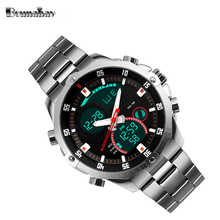 Bounabay 2017 waterproof watches for men original man automatic watchs shockesportivo mens brand digitales watch military cheap