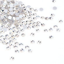 #901 New Arrival Approximately 1440pcs/bag Diamond Crystals Wedding/Bag/Jewelry/Nail Rhinestones Decorations(China)