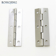 Furniture Cabinet Hinges Jewelry Box Hinge Furniture Hardware Hinge Packaging Accessories Surface Mounted 6 Hole Hinge 59*20mm(China)