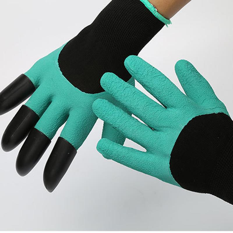 Protective Gloves  Flowers Can Be Digging Labor Insurance Gloves Rubber Protective Insulation Manufacturers Direct Selling<br><br>Aliexpress