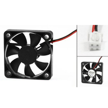 10 Pcs Wholesale 50mm x 50mm x 10mm 5010 DC 12V 0.1A 2Pin Brushless Cooling Fan(China)