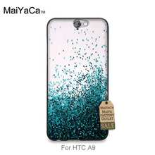Printing Drawing protection phone Cover For case HTC One A9  Many Blue diamond Swim