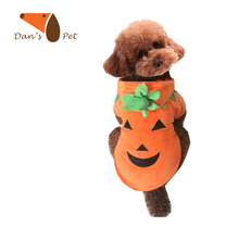Halloween Cute Pumpkin Pet Dog Cats Costume Fancy Dress Puppy Warm Coat Clothes,Costume for Small Dog Cat Supplies Accessories