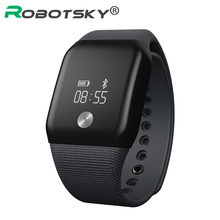 Smart Bracelet Sport Pedometer long Standby time Band Heart Rate Fitness Watch Monitor deep waterproof Wristband For iOS Android(China)