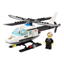 KAZI Air Force plane DIY Bricks Compatible legoed Police Helicopter Building Blocks Boy's Brinquedos Toys Kids Birthday Gift(China)