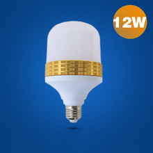 Led bulb tyrant golden lamp, high quality acrylic constant flow 12W bulb, export process, aluminum ball bubble lamp