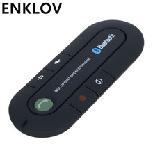 Dual-Standby Car Bluetooth EDR Handsfree Speakerphone Wireless Car Kit MP3 music Player SmartPhone Dual Phones Connection Black