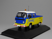 Rare 1:43 Combi van Small truck model Alloy collection model(China)