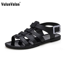 Gladiator Sandals For Women Cross-Tied Flats Casual Sandals Women's Shoes Peep Toe Quality Sandalias Ladies Footwear Size 35-39