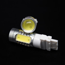 Q5 7443 7440 7.5W White T20 T25 3157 3156 Rear Turn Backup Reverse Signal Light Fog Bulb Lamp