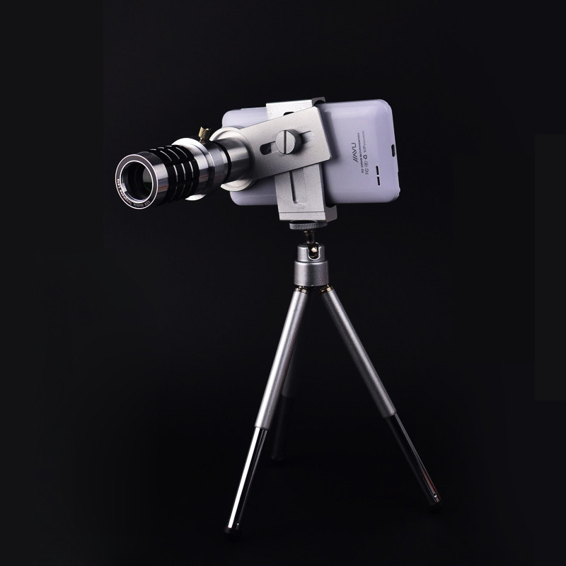universal Mobile phone lens zoom telescope camera photography telephoto lenses high quality can be fixed a tripod lentes Fashion